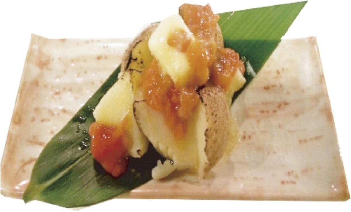 Bukkake咸鱼和土豆黄油