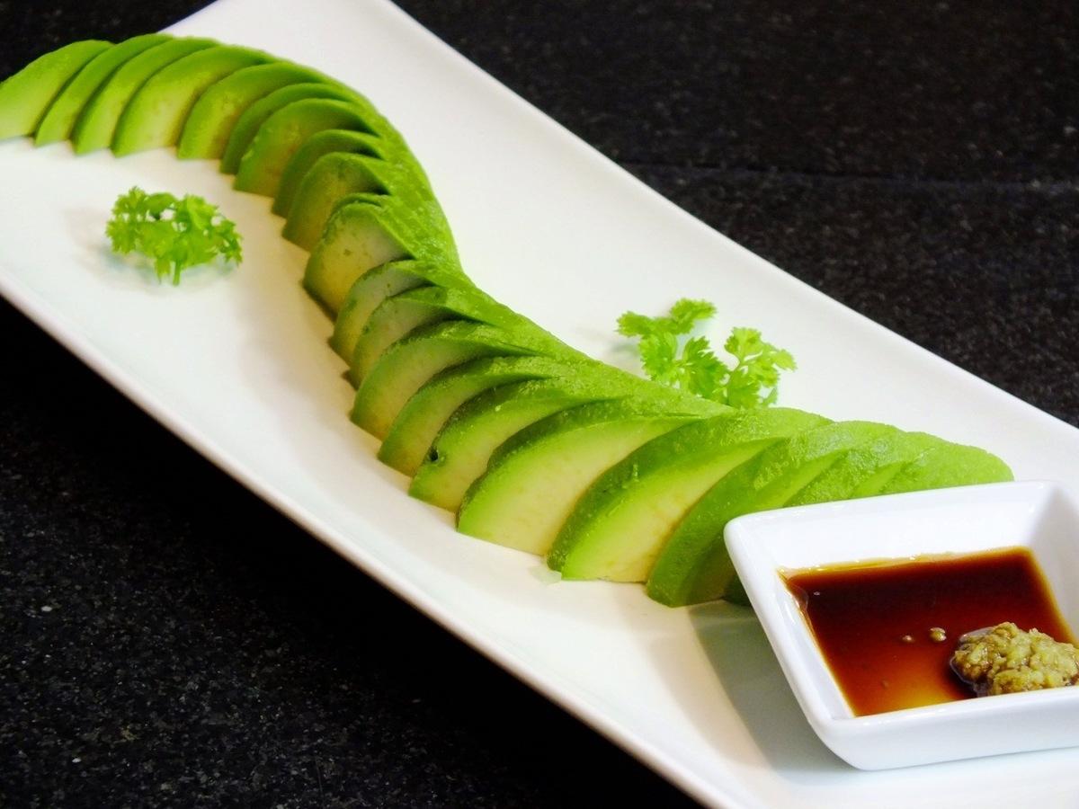鳄梨片/番茄片