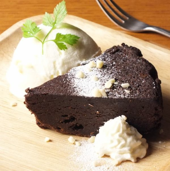 Hand made Gateau chocolat