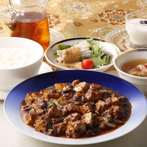 【塩味を抑え、旨味を極めた新しい「麻婆豆腐」】重慶式麻婆豆腐セット