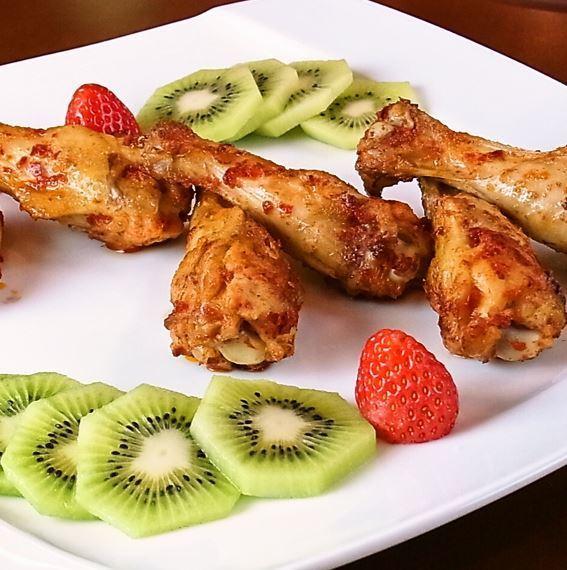 아오모리 샤모 록 날개 원래 매운 오븐 구이