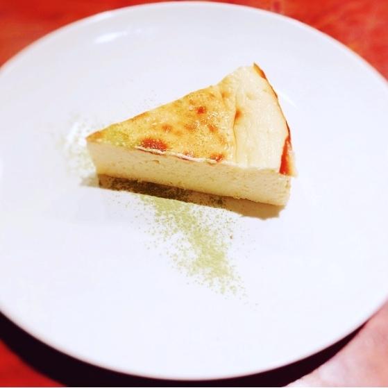 スーパー大麦のチーズケーキ