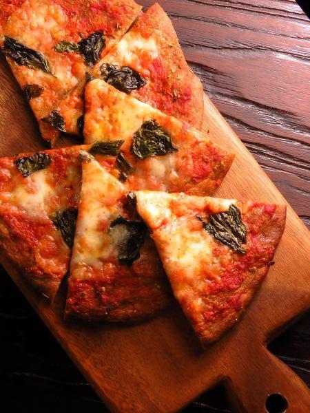당질 84 % 인하 밀기울 피자
