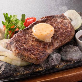■軟牛腰里的熔岩烤烤架〜磨碎的烤蘋果醬與mor ma味噌醬〜