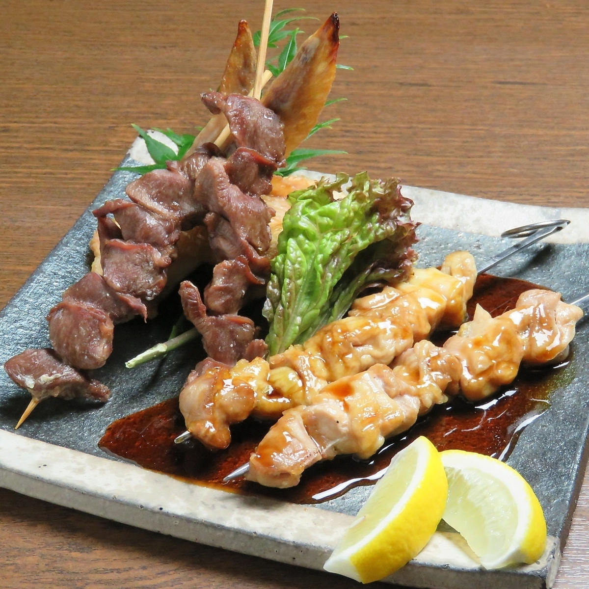 Assorted skewers (1 pea, 1 slurry, 2 wings) ※ Pictures are images