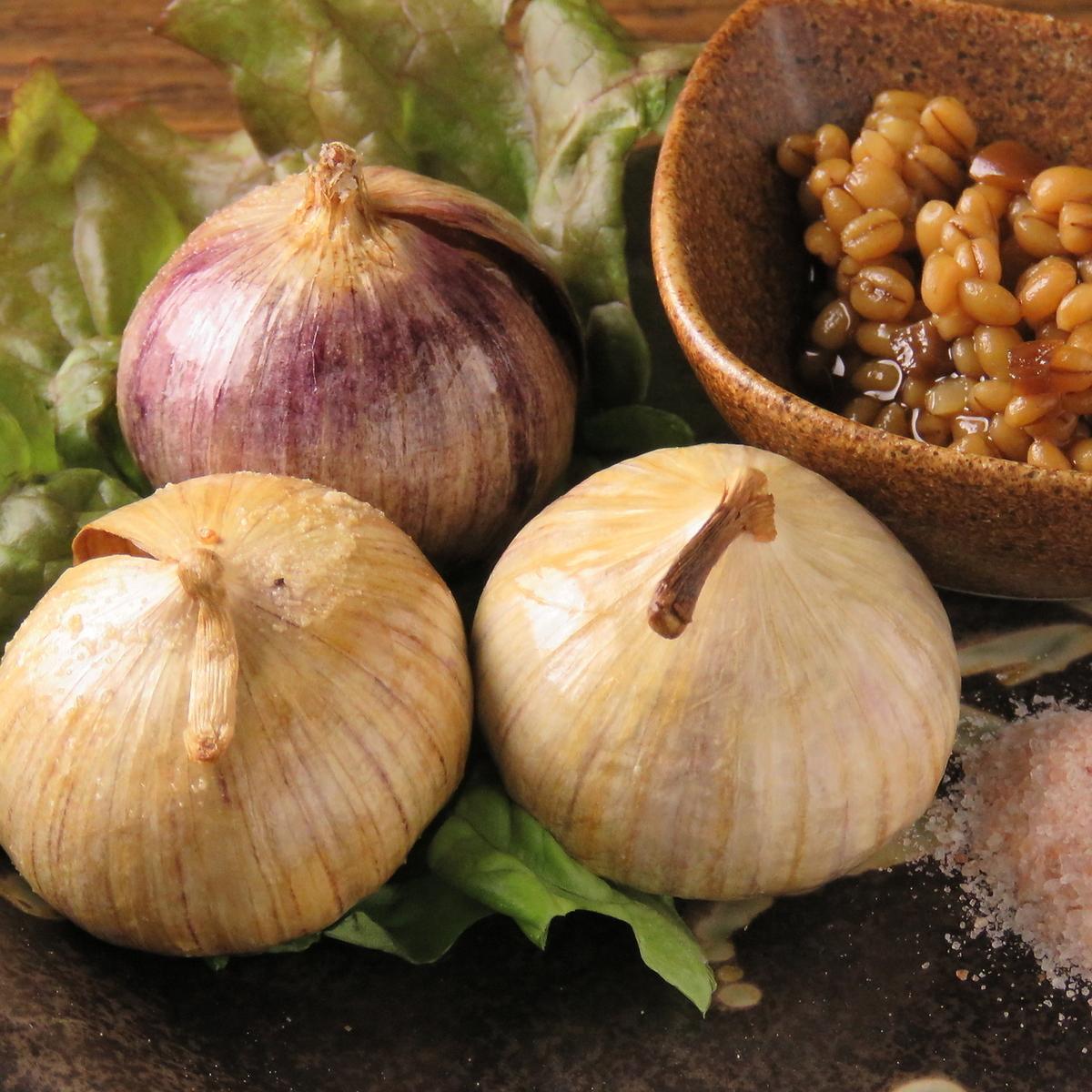 Dumpling garlic