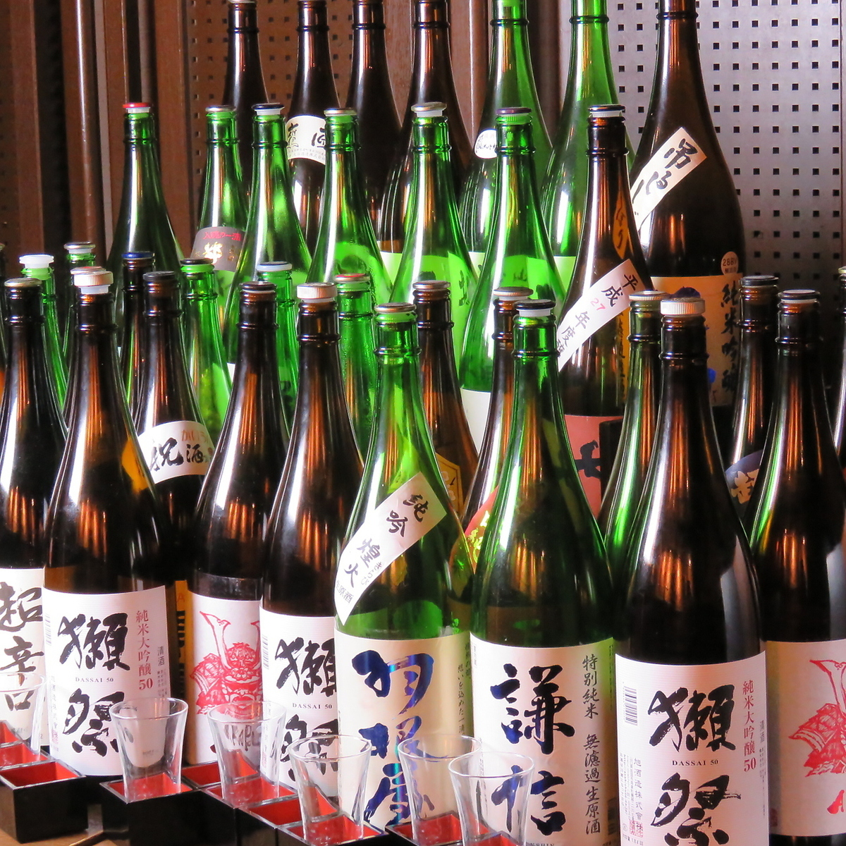 100 local sake nationwide! All-you-can-drink all-you-can-eat plan 1500 yen (tax excluded) ~