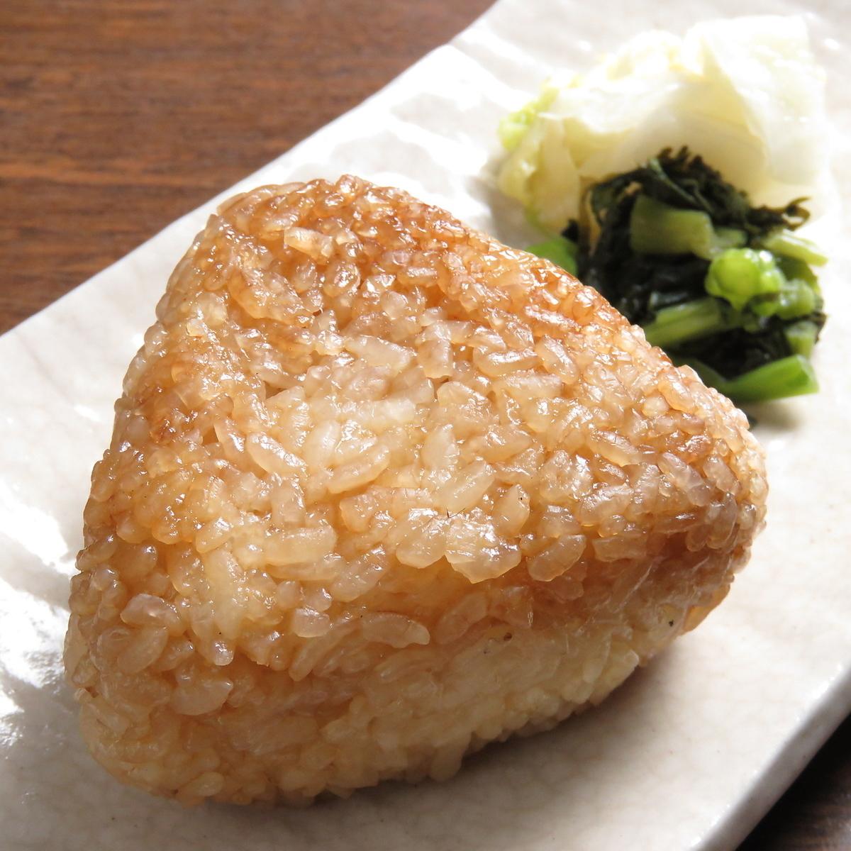 Grilled rice balls 1 large