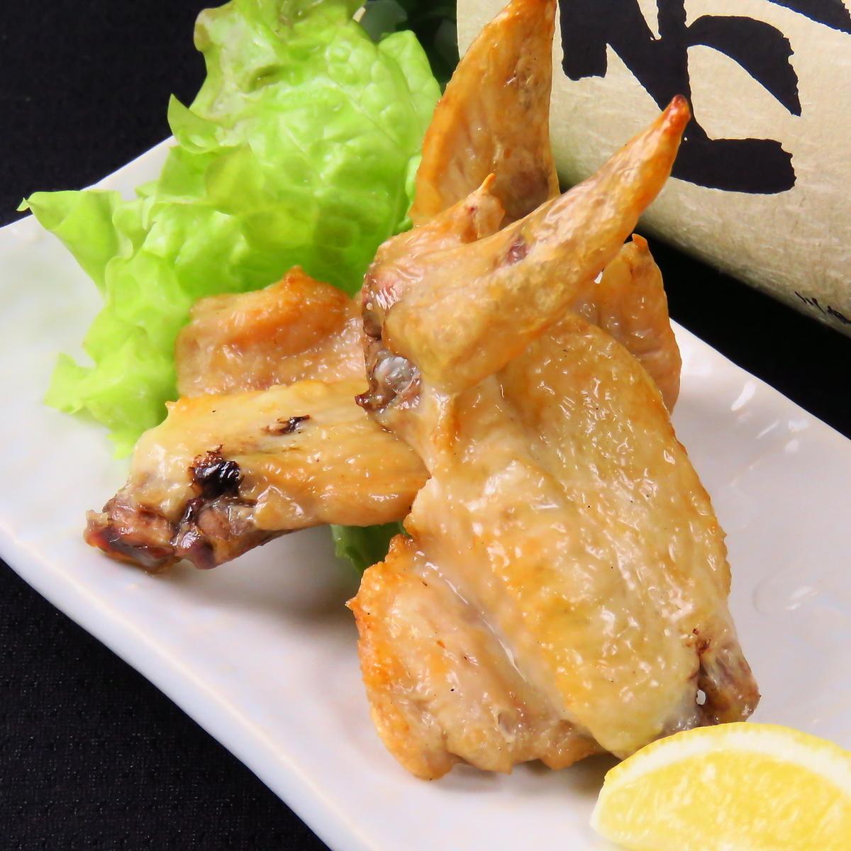 Salt-grilled chicken wings 2