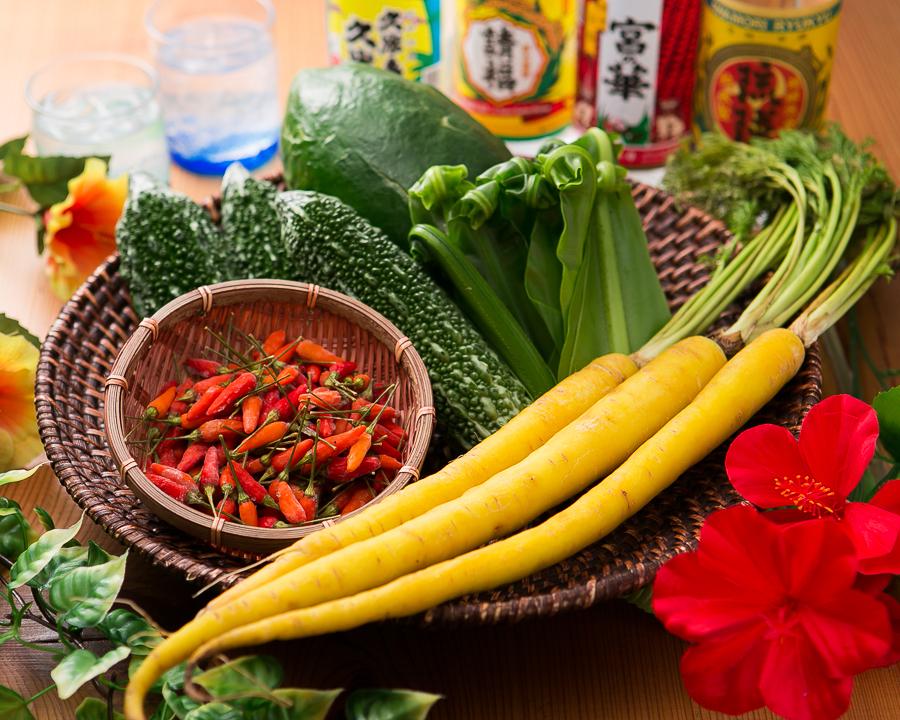 Selected, nutritious plenty of Okinawa Genki vegetables!