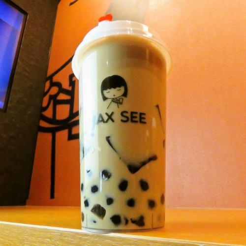 紅茶ミルクティー(タピオカ入り)
