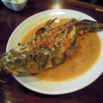 本日の魚ムニエル