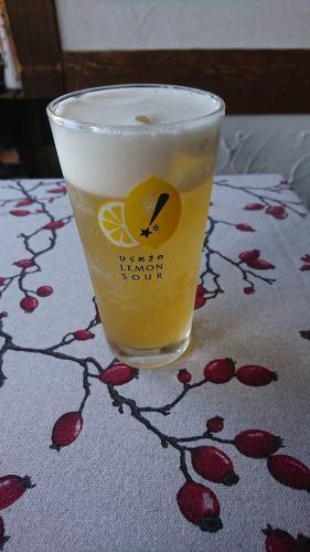 誘惑のレモンビール 500円(税抜)