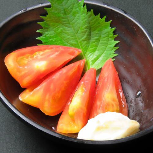 冷やしトマト/もろきゅう/やみつききゅうり