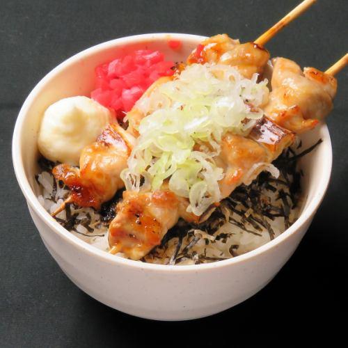 濃厚鶏白湯ラーメン/おまかせ焼鳥丼