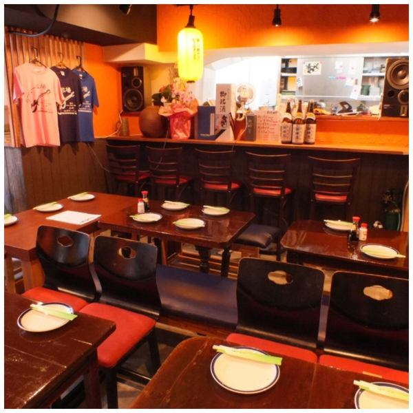 A spacious interior can also hold a couple of adults ♪ Inside a warm atmosphere shop recommended by the manager ★ Greatly satisfied with the numerous BIG men ♪ Besides it has a private room of Japanese atmosphere ★ I do not want to return ★ It is a pub in atmosphere ... ♪