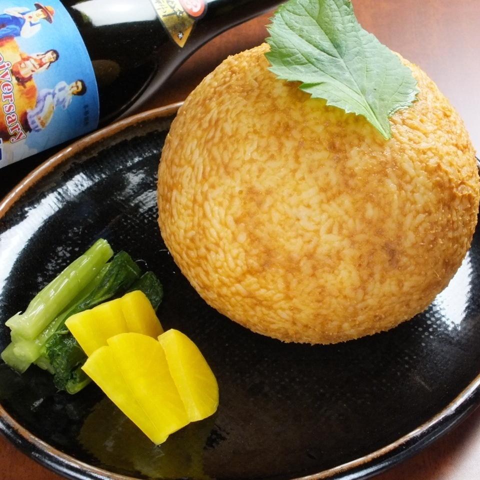 大!仙台味噌饭团