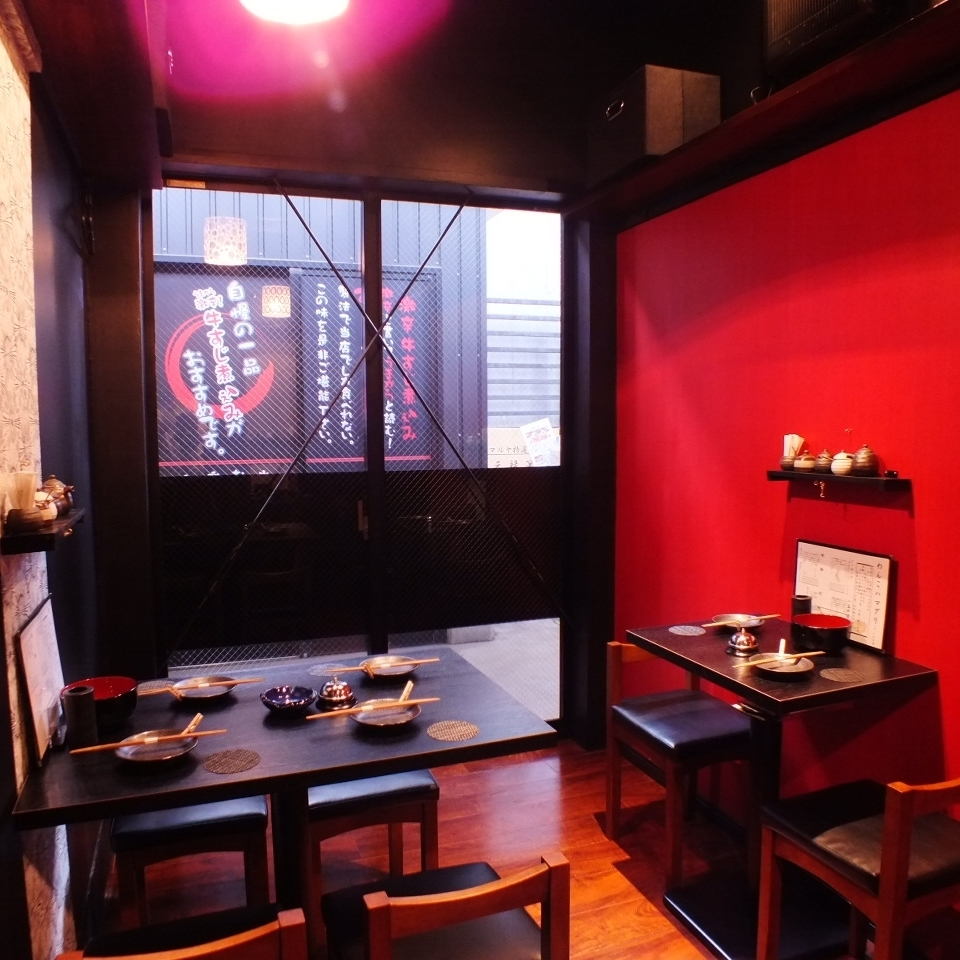 Gotokoda Sakuraji street like an alley ♪ The excitement spreads in the atmosphere of a calm atmosphere.We have two seats available so we recommend it for dating and dining with friends ◎ I will also talk with a sticky alcoholic beverage for delicious meals ♪