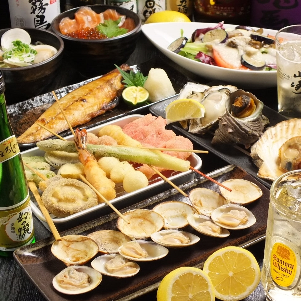 ☆ course only ☆ shellfish tucks