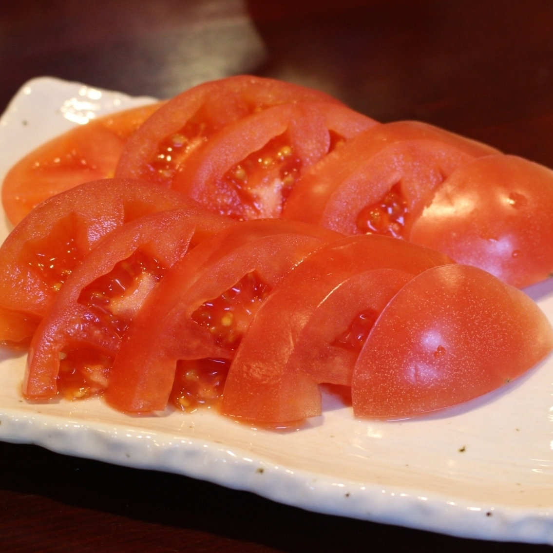 Cooled tomatoes