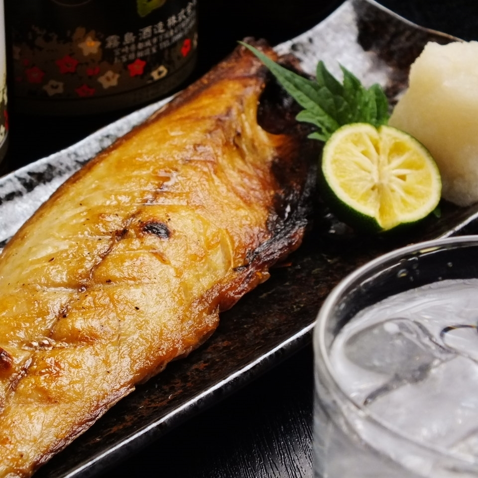 Baked with mackerel