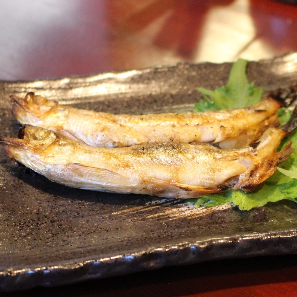 This shishamo grilled male one tail