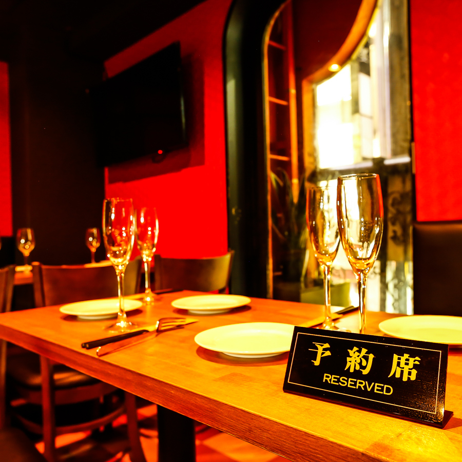Prepare table private room and various complete private room! Return home, girls' party, date ☆ Make sure you have a surprise on important days! Free dessert plate on birthday and anniversary ♪ accompany your favorite message Let's surprise you ♪