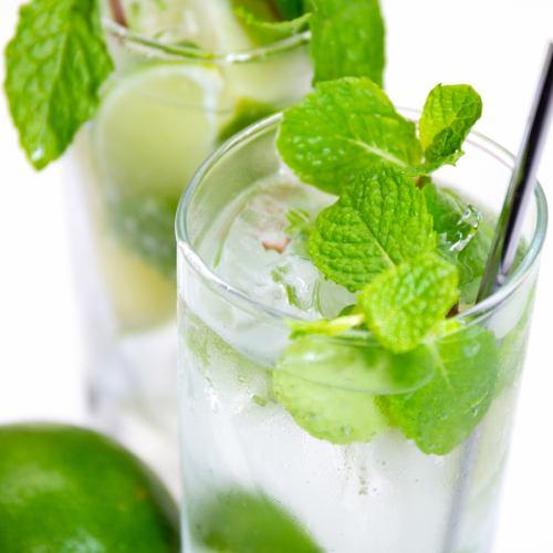 """◆ 단품을 즐기고 싶은 분에게 ◆ 맘껏 마시기 2 시간 """"몬드 -Mondo- 음료 무제한 플랜」1500 엔"""