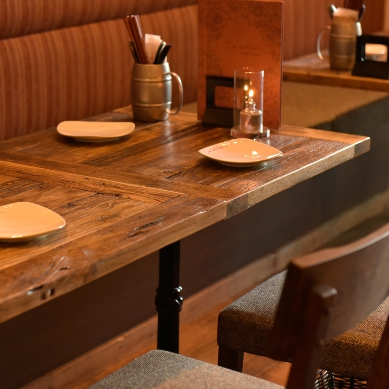 We can guide table seats from 1 person ~! Please use by all means on drinks and meals on weekdays after work.
