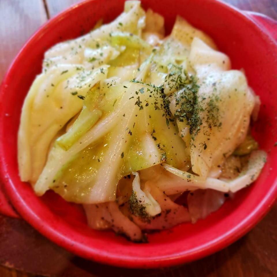 鳳尾魚捲心菜
