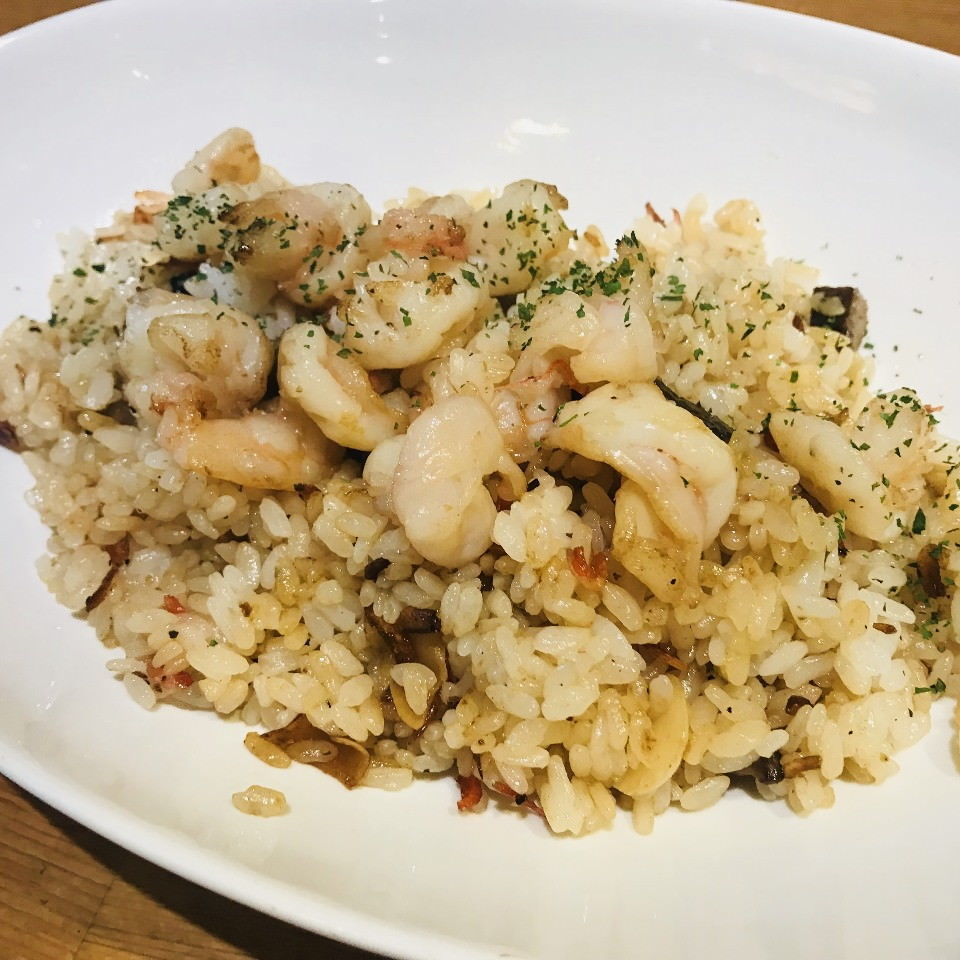 Savory garlic rice