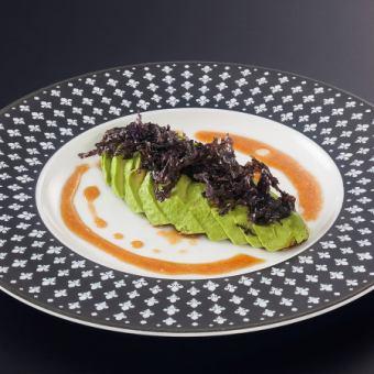 鱷梨的紫菜開胃