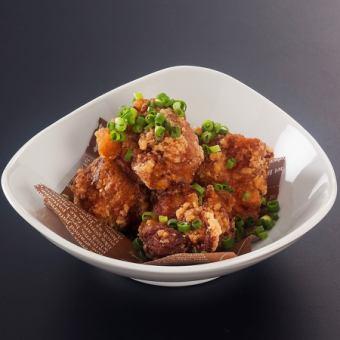 鶏の斬切おろしポン酢