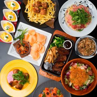 【监狱综合课程】2H饮食烹饪美食10项3500日元★W主要体积优秀♪各种派对◎