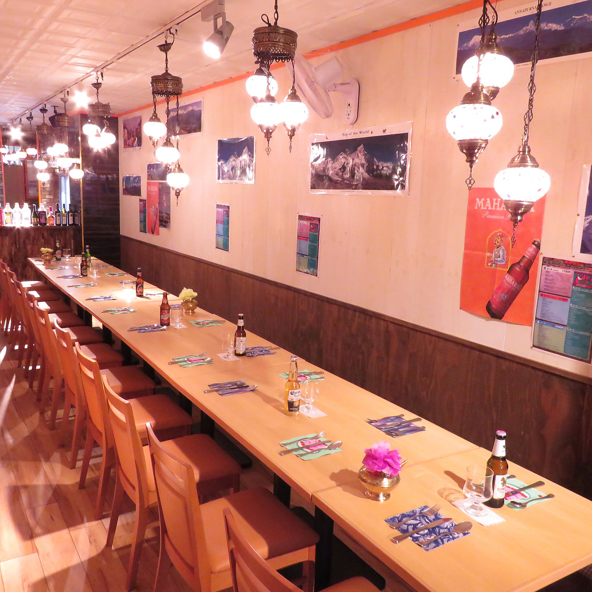 【Private place】 We accommodate for 40 persons to a maximum of 60 people.For the charter of the whole store, you can use it for farewell party etc.Ready for music OK ♪