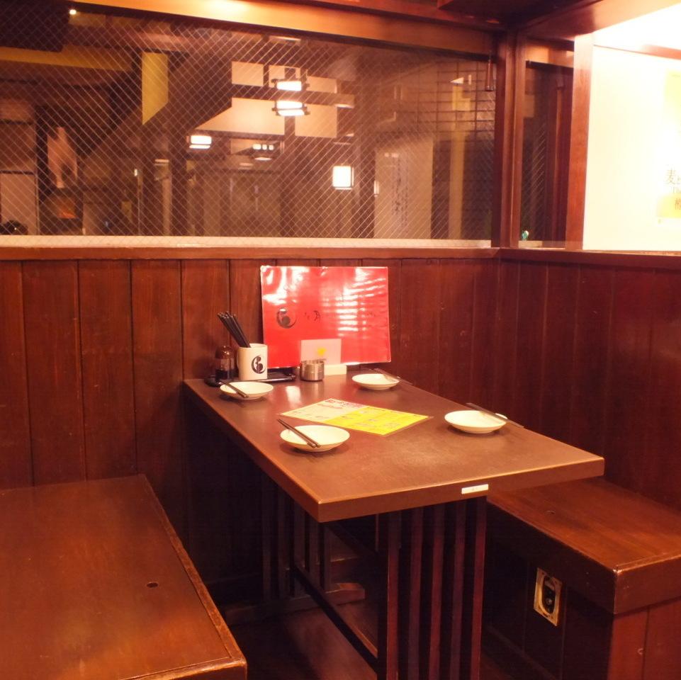 4名様用半個室★国分寺駅周辺で個室の居酒屋をお探しでしたら是非、和風個室居酒屋 ありんこ酒場をご利用ください★