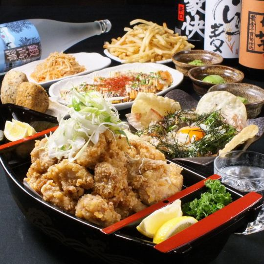Salary man's ally! 2 hours drinking and eating All you can eat as much as you want!? 【Renko number course】 7 items 3480 yen ⇒ 2980 yen