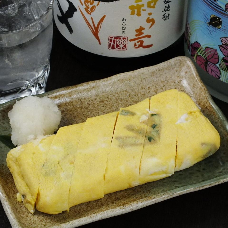 Dashi-rolled egg