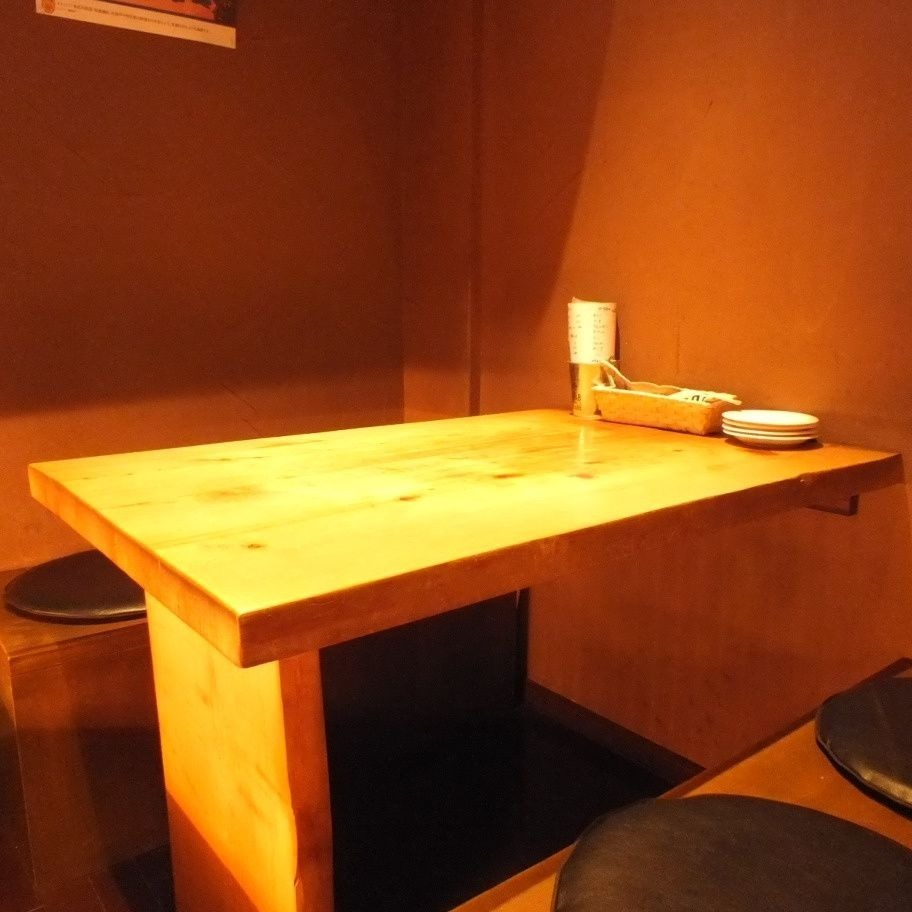 There is a table that can be relaxed for 4 people.Up to 8 people OK ♪