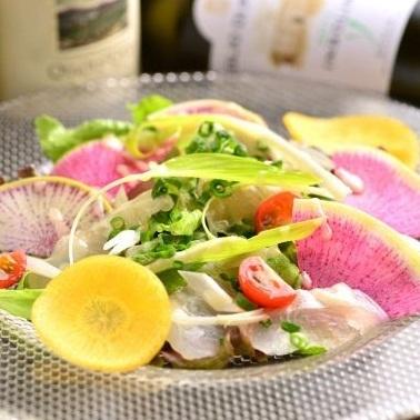 什錦生魚片4個品種