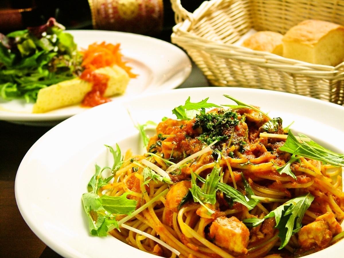 意大利面午餐是950日元