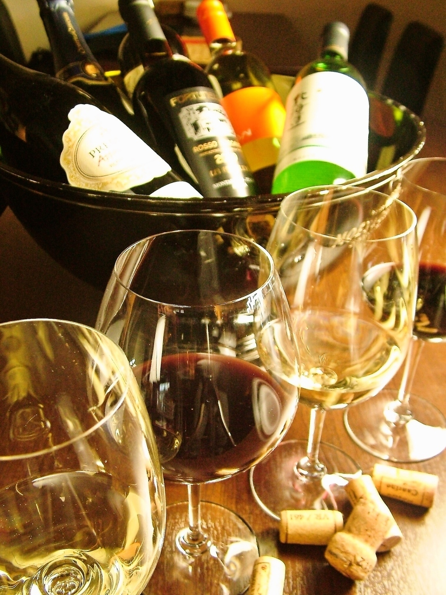 我們也有很多玻璃酒!