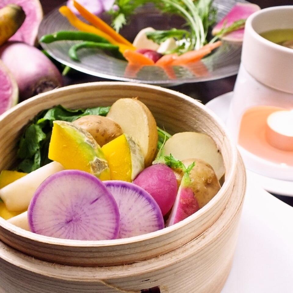 有機蔬菜Bagna cauda
