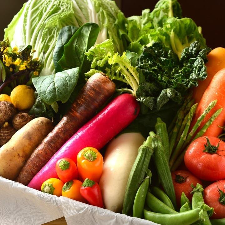 受歡迎!豐富的有機蔬菜Bagna cauda。