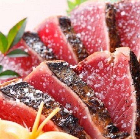稻草烤鰹魚(醬或鹽)