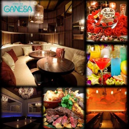 Stylish finest resort 【Complete single room many gastronomic space】 Women are also happy cocktails