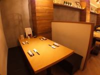 We also have a box seat in a semi-private room space, it can also be used for families and dates!
