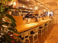 Feel free to use even one person at the counter seat.Use a cup after work or a couple ♪