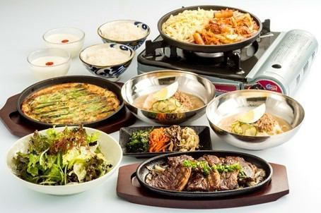 You can enjoy plenty of popular cheese taccarbie etc. from classic Korean cuisine ♪