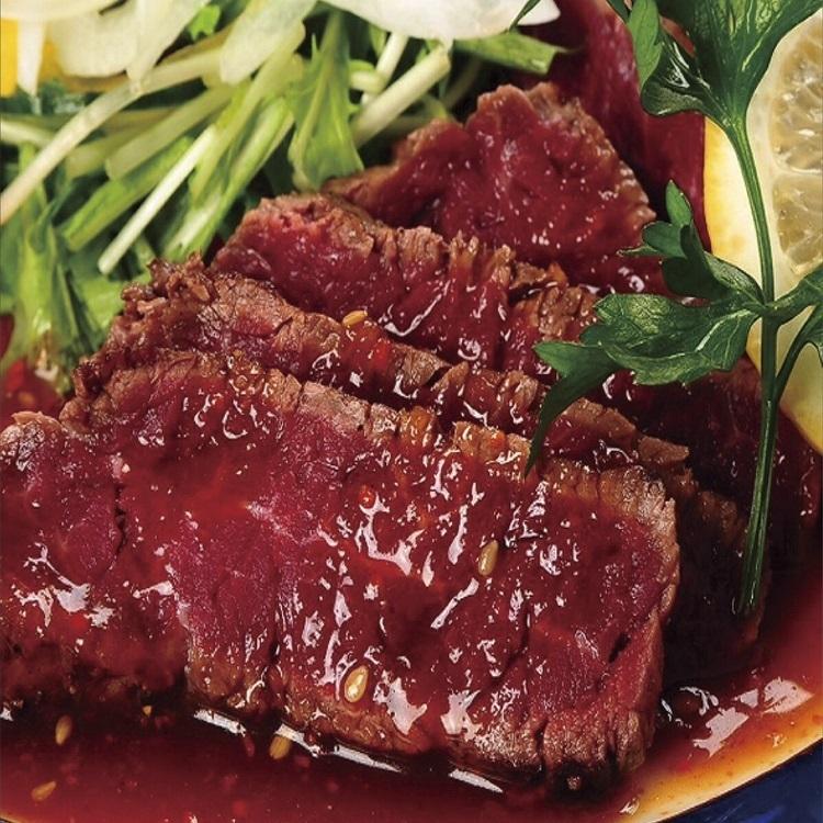 赤身カットステーキ(サラダ付) 150g